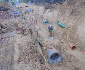 Meetbuizen voor infiltratie water in de grond
