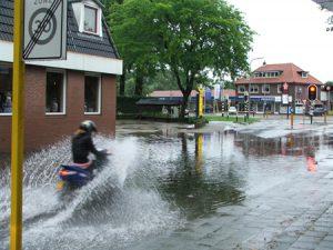 Wateroverlast in Eibergen